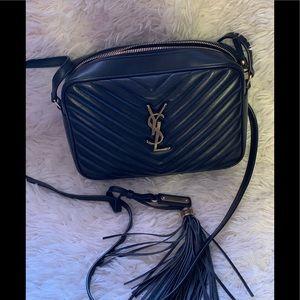 YSL Lou Matelassé Leather Camera Bag